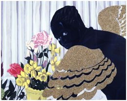 photo credit: Joe Ziolkowski, Souvenir I (1997) by Kerry James Marshall